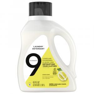 9 Elements Lemon Scent Laundry Detergent