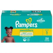 Pampers Size 5 Swaddlers Enormous Value Diapers
