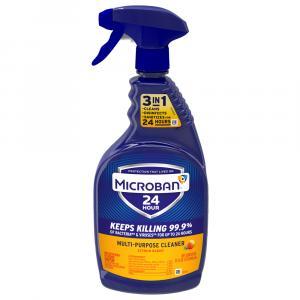 Microban Multipurpose Cleaner Citrus Scent