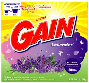 Gain Lavender Powder Laundry Detergent