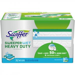 Swiffer Wet Heavy Duty Mopping Cloths Open Window Fresh