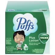Puffs 2-Ply Vicks Plus Lotion Tissues