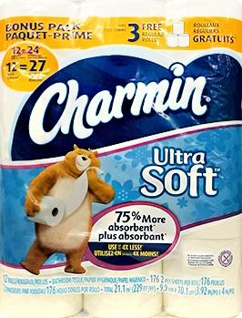 Charmin Ultra Soft Bath Tissue