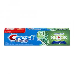 Crest Extra Whitening Plus Scope Outlasting Mint Toothpaste