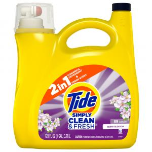 Tide Simply Clean & Fresh Laundry Detergent Berry Blossom