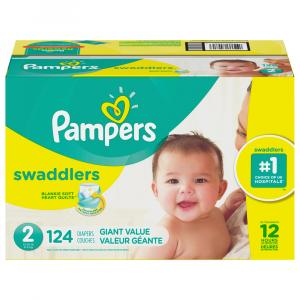 Pampers Size 2 Swaddlers Giant Mix Diapers