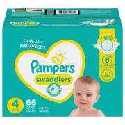 Pampers Size 4 Swaddlers Super Mix