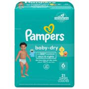Pampers Size 6 Baby Dry Jumbo Pack