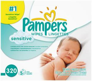 Pampers Sensitive Baby Wipes Refill