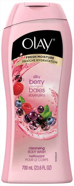 Olay Fresh Outlast Cooling White Strawberry Body Wash
