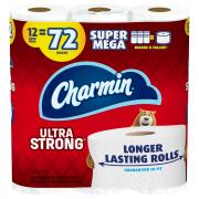 Charmin Ultra Strong Super Mega Roll Bath Tissue