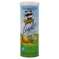 Pringles Light Fat Free Sour Cream & Onion Crisps