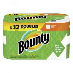 Bounty Full Sheet White Double Roll Paper Towels