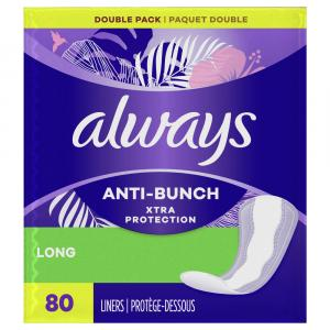 Always Long Unscented Dri-liners