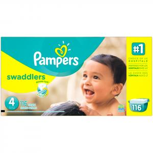 Pampers Size 4 Swaddlers Diapers