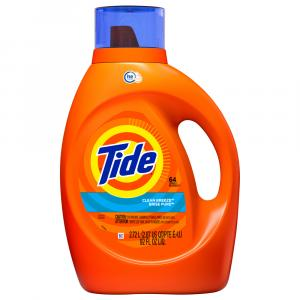 Tide Ultra Laundry Detergent Clean Breeze