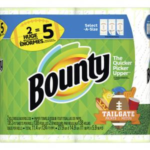 Bounty Select-A-Size Football Huge Roll Paper Towel