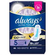 Always Ultra Thin Heavy Overnight Pads