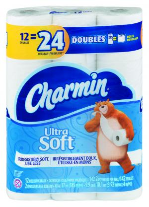 Charmin Ultra Soft Double Roll Bath Tissue