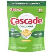 Cascade Original Action Pacs Lemon Scent