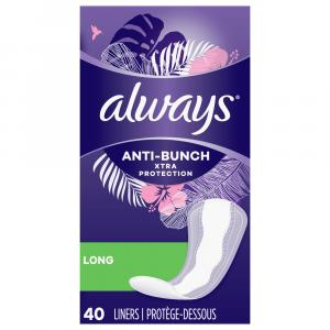 Always Long Unscented Pantiliners