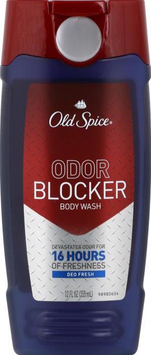 Old Spice Odor Blocker Fresh Body Wash