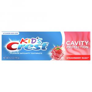 Kid's Crest Anticavity Fluoride Toothpaste Cavity Protection