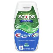 Crest Complete Plus-Whitening + Scope Outlast Toothpaste