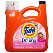 Tide Plus Downy April Fresh 72 Load