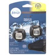 Febreze Car Vent Clips Air Freshener Platinum Ice