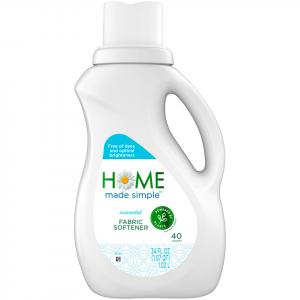 Home Made Simple Unscented Liquid Fabric Softener