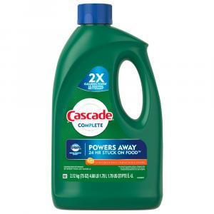 Cascade Complete Citrus Breeze Gel Dishwasher Detergent