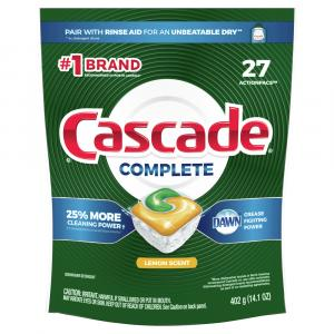 Cascade Complete Lemon Scent Action Pacs