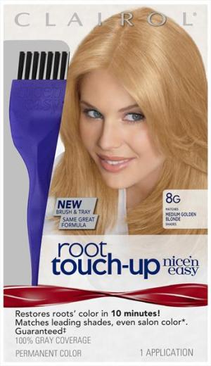Clairol Nice'n Easy Root Touch-up #8g Medium Golden Blonde