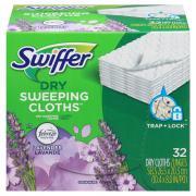 Swiffer Sweeper Dry Cloths Lavender Vanilla & Comfort