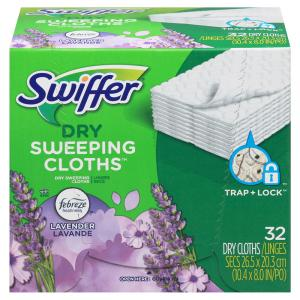 Swiffer Sweeper Dry Cloths Lavender Vanilla & Comfort