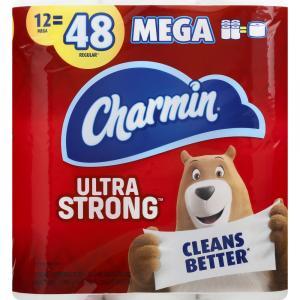 Charmin Ultra Strong Mega Roll Bath Tissue