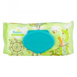 Pampers Natural Clean Baby Wipes 1x Fitment