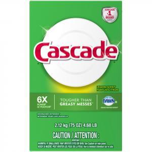 Cascade Lemon Powder Dishwasher Detergent