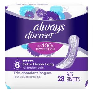 Always Discreet Pads Ultimate Long Length