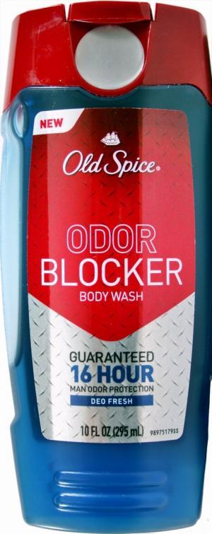 Old Spice Odor Block Fresh Scent Body Wash