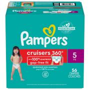 Pampers Stage 5 Cruisers 360 Diapers