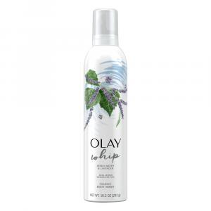 Olay Foaming Whip Birch Water & Lavender Body Wash