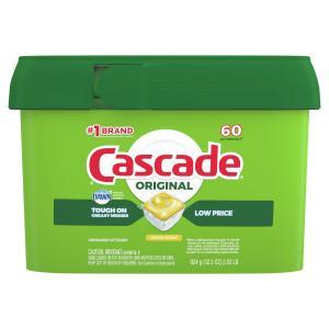 Cascade Lemon Scent Action Pacs