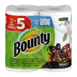 Bounty Huge Roll Select-a-size Incedibles 2 Print