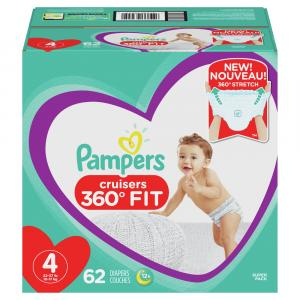 Pampers Size 4 Cruisers 360 Diapers Super Pack