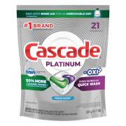 Cascade Platinum Action Pacs Fresh Scent Oxiclean