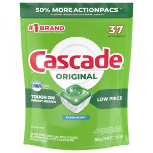 Cascade Original Action Pacs Fresh Scent