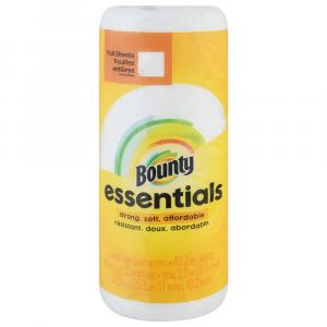 Bounty Essential White Full Sheet Roll Paper Towel