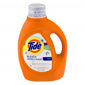 Tide 2x With Bleach Original 48 Load